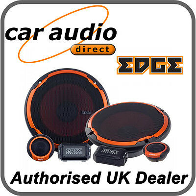 """Edge Street ED306 240W 6.5"""" 16.5cm Car Audio Stereo Component Speakers Door Dash for sale  Shipping to Ireland"""