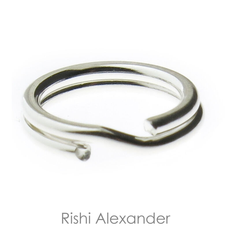 925 Sterling Silver Split Rings to Secure your Charms Made in USA