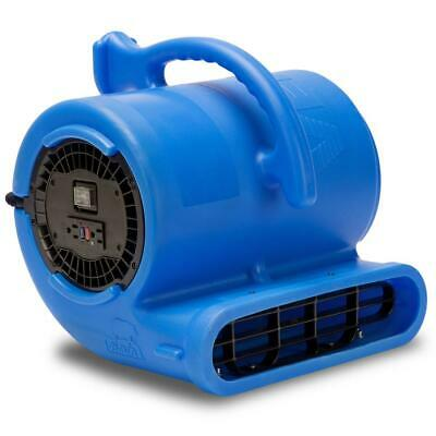 B Air Blower Fan 13 Hp Air Mover Floor Carpet Dryer Grounded Abs Blue 300 Watt