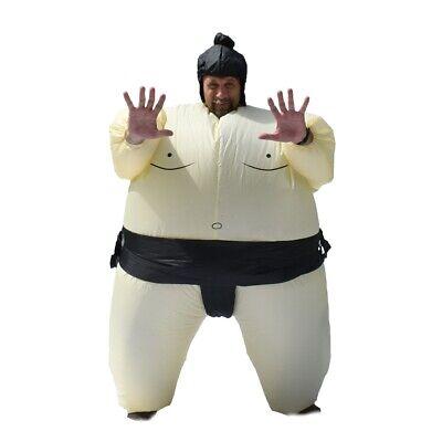 ALEKO Halloween Inflatable Party Costume - Sumo Wrestler - Adult Sized](Inflatable Sumo Wrestler Costume)
