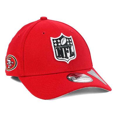 San Francisco 49Ers New Era Nfl Shield Team Logo Fantasy Football Cap Hat Niners