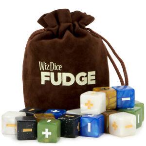 20 Fudge Dice GM Starter Pack, Terrestrial, 5 Sets of 4 Fate Dice   Wiz Dice
