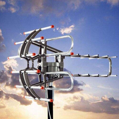 500Miles++ 1080P Outdoor Amplified HDTV Digital TV Antenna L