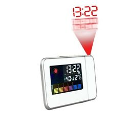 Electronic Clocks Digital Projection Alarm Clock Desk Weather LED Backlight with