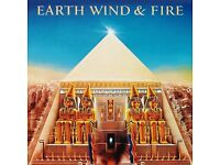 EARTH WIND AND FIRE - ALL'N ALL - VINYL LP