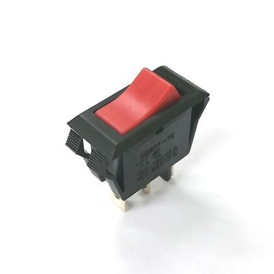 Joemex S8201-15 Spst On-off 125v Red Illuminated Rocker Switch 15a 125v Ac