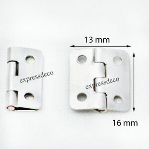 lot30 mini charni re porte paumelle pivot meuble ancien armoire buffet placard ebay. Black Bedroom Furniture Sets. Home Design Ideas