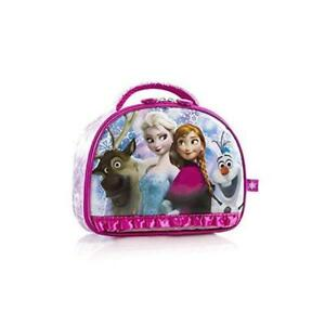 Disney Frozen Anna Elsa Sven Olaf Lunch Bag (Pink New)