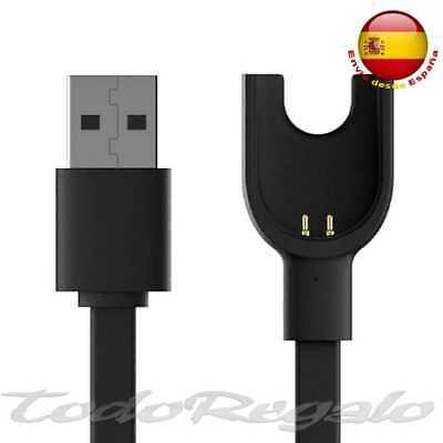 Cable Cargador USB 2 Pines con Muelle Dock Station para Xiaomi Mi...