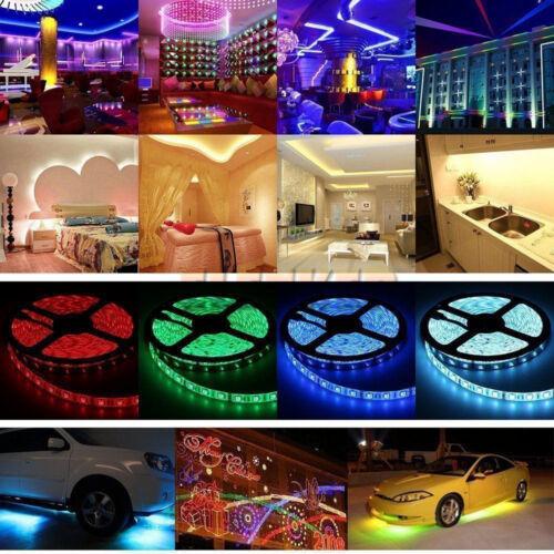 Bar Kitchen Home Garden Room 5M SMD 5050 300 LED Flexible LE