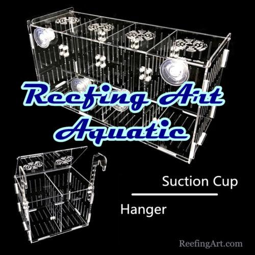 - Reefing Art- Acrylic Acclimation Breeder Box Quarantine Net Breeding Fish Tank