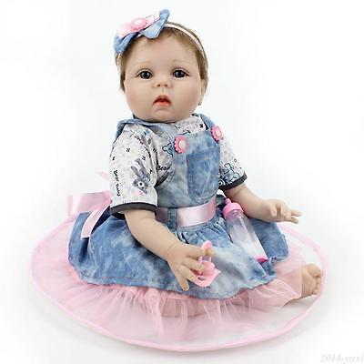 Купить Kaydora - 22 Realistic Reborn Baby Dolls Lifelike Newborn Vinyl Silicone Baby Girl Doll