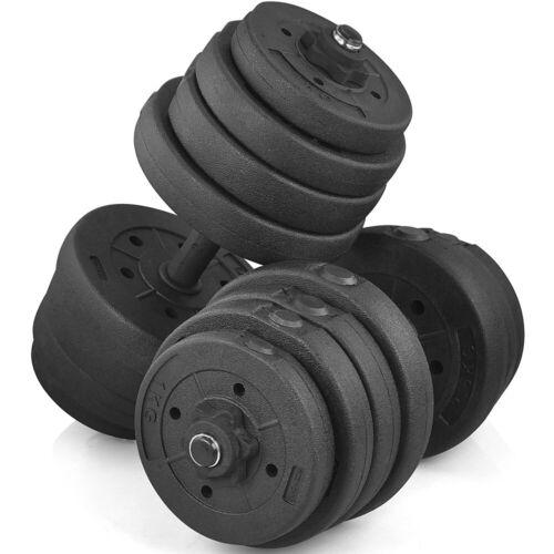Hantelset 30kg Hanteln Kurzhanteln Gewicht Hantelscheiben Hantel Krafttraining