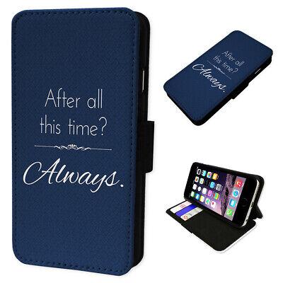 Harry Potter Always - Flip Phone Case Wallet Cover Fits Samsung & Iphone Models