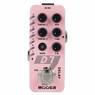 Mooer Micro Compact D7 Digital Delay Effects Pedal