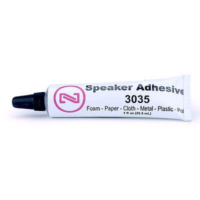 - CLEAR Speaker Repair Adhesive - Glue for Foam Surround Dust Cap Grill-3035-1oz