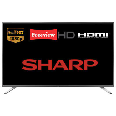 """Sharp LC-40CFG4041K 40"""" LED TV Full HD 1080p With Freeview HD HDMI SCART"""