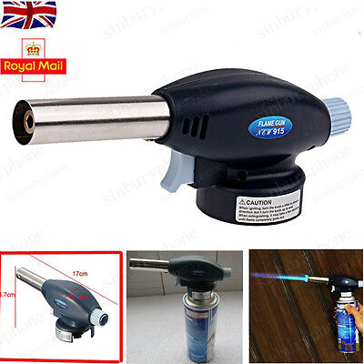 NEW Blow Torch Butane Gas Kit Cooking Catering Creme Brulee Culinary Tart Tool