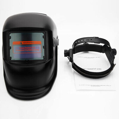 New Solar Powered Auto Darkening Welding Helmet Grinding Welder Mask Black Us
