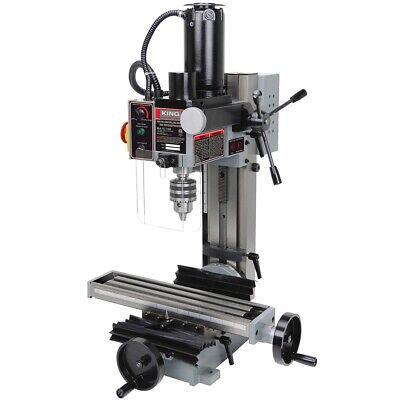 King Industrial Kc-15vs Mini Milling Drilling Machine
