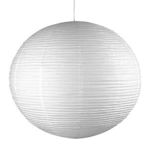 Modern Large 90cm White Rice Paper Lantern Globe Ceiling