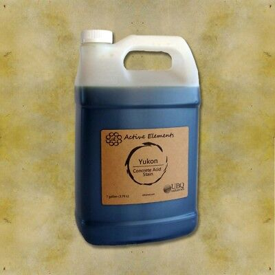 Official Acid Stain - 1 Gallon - Yukon - Pale Brown Yellow Color