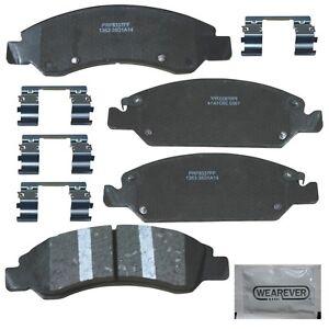 PXD1363H Carquest Wearever Platinum Pro. Disc Brake Pads Ceramic W/ Hardware