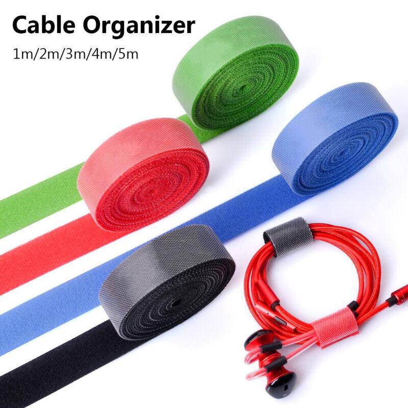 Cable Tie Organizer Cord Winder Strap Wire Management Holder