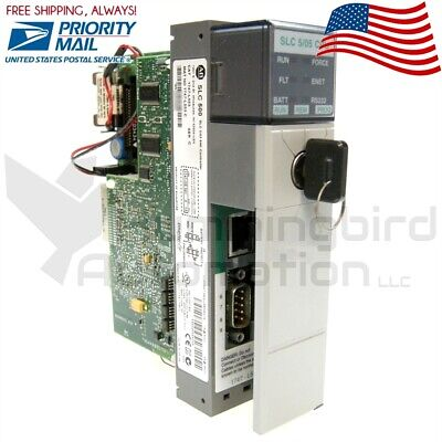 2014 Allen Bradley 1747-l553 C Slc500 Plc Processor 505 Controller Fw13