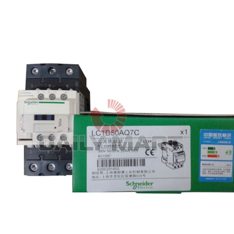 Brand New Schneider Electric LC1D50AQ7C TeSys Industrial AC Contactor Relay