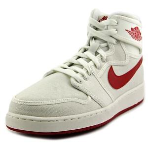 3a1dd153d0eb Nike Aj1 KO High OG Timeless Canvas AJKO Air Jordan 1 Sail Red Mens ...
