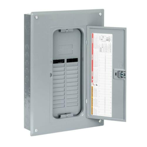 Square-D QO 125 Amp Indoor Plug-On Load Panel Electrical Power Distribution Box