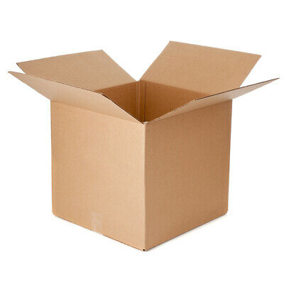 50 New Corrugated Boxes - 12x12x12 Multi-depth 108 - 32 Ect