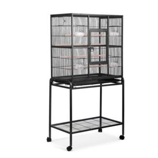 AUS FREE DEL-160cm Pet Parrot Aviary Bird Cage with Wheels Stand