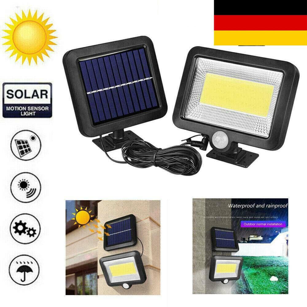 Solar Strahler SMD LED Außenlampe Solarstrahler Solarleuchte Beleuchtung IP65