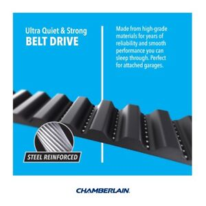 CHAMBERLAIN 1/2HP BELT MYQ GARAGE DOOR OPENER