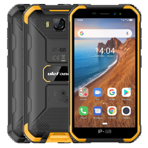 Android Phone - Unlocked Rugged Mobile Phone 16GB Quad-Core IP68 Waterproof Outdoor Smartphone