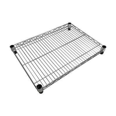 24 X 18 Metal Chrome Plated Wire Shelf Shelfing Rack Tier Layer Shelf
