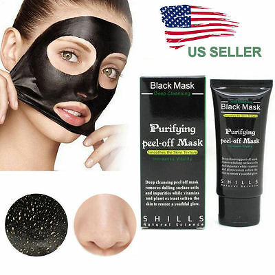 Purifying Black Peel-off Mask Facial Blackhead Remover Charcoal Mask USA SELLER
