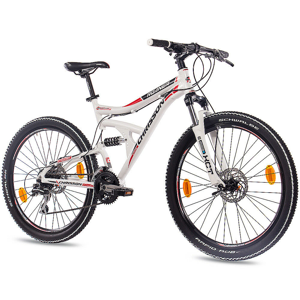 26 zoll mtb alu mountainbike fahrrad chrisson roaner 24g shimano weiss 2016 ebay. Black Bedroom Furniture Sets. Home Design Ideas