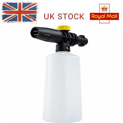 UK 750ML Snow Foam Lance Bottle Cannon For Car Washer Karcher K2-K7 Sprayer Gun