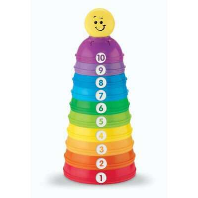 Fisher-Price Brilliant Basics Stack and Roll