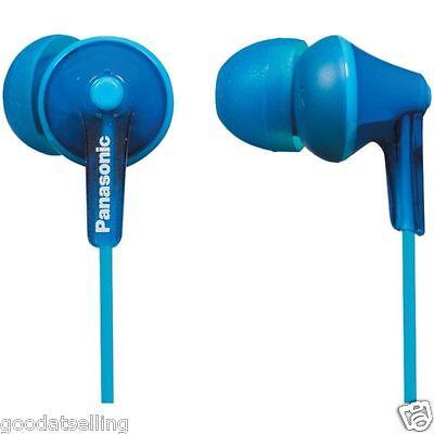 Panasonic RP-HJE125 (Blue) In-Ear Headphones Earphones for MP3 Music Player