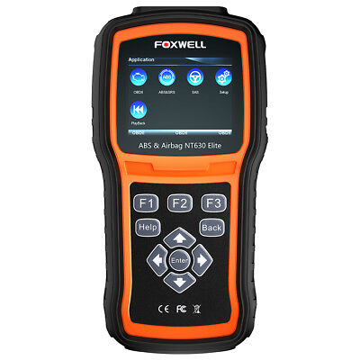 FOXWELL NT630 Elite ABS Scanner Obd2 Code Reader Engine Airbag tool AS NT630 pro