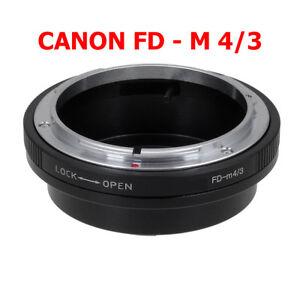 Canon FD - M4/3 Micro MFT Objektivadapter  FD Objektiv Lens an Panasonic Lumix