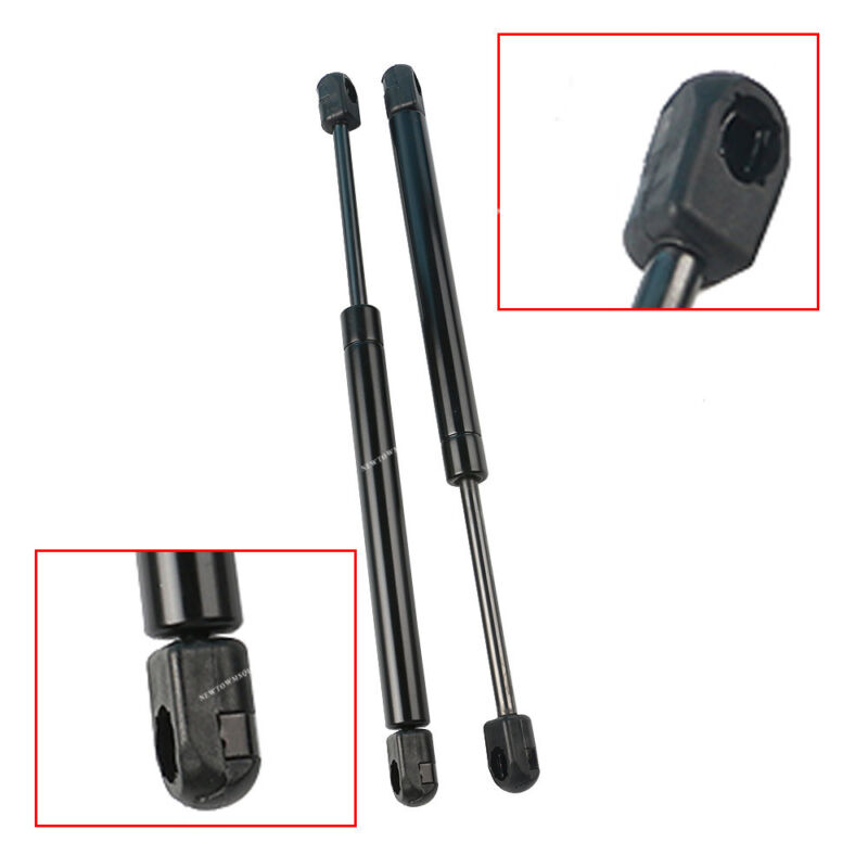 Pair Front Hood Gas Charged Lift Supports Shocks Struts For 2009-15 Nissan Titan