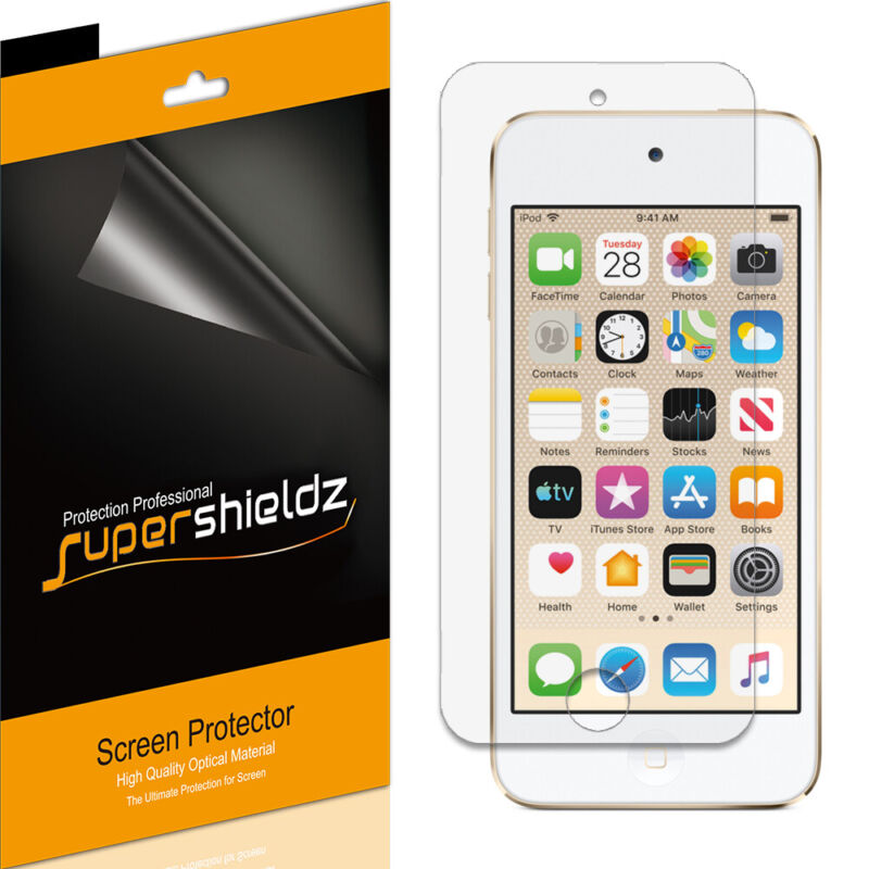 6X Supershieldz Clear Screen Protector Shield for iPod Touch 5 5th Gen 5G