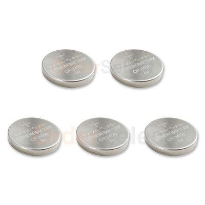 5 PACK Battery Coin Button Watch 3V CR2450 BR2450 DL245000 ECR2450 DL2450 HOT!