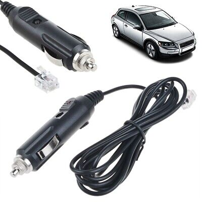 Car Power Charger For ESCORT SOLO S4 Cordless Radar Laser Detector Supply Cord