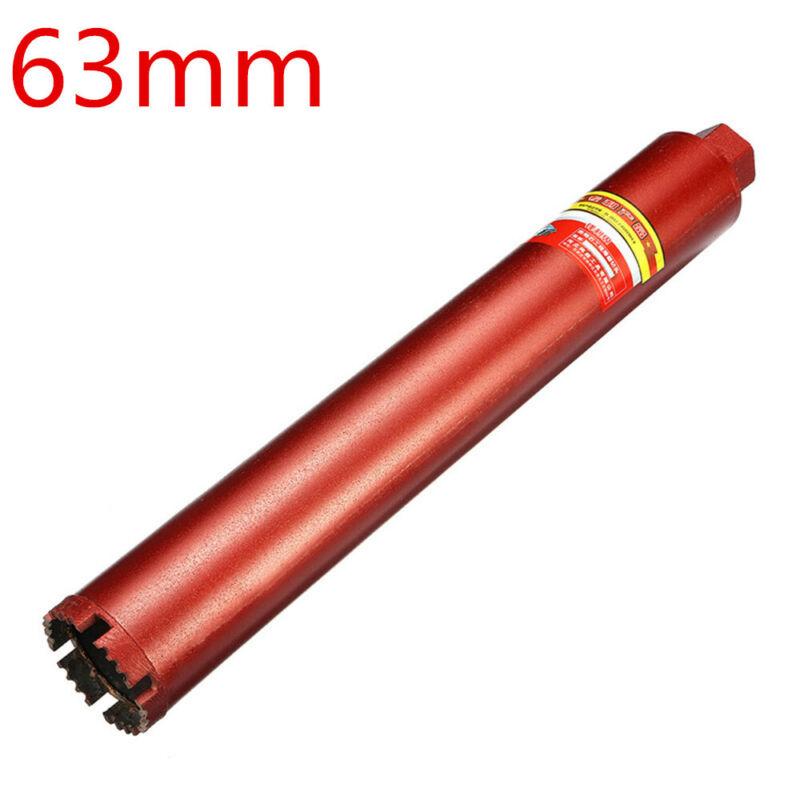 63mm Pro Wet Diamond Core Drill Bit Multiple-Use Reinforced for Concrete Premium